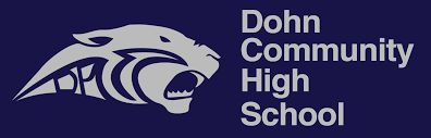 Dohn community high school logo