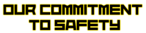 commitment to safety CM