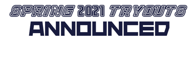 spring tryouts announcedBlueWhite