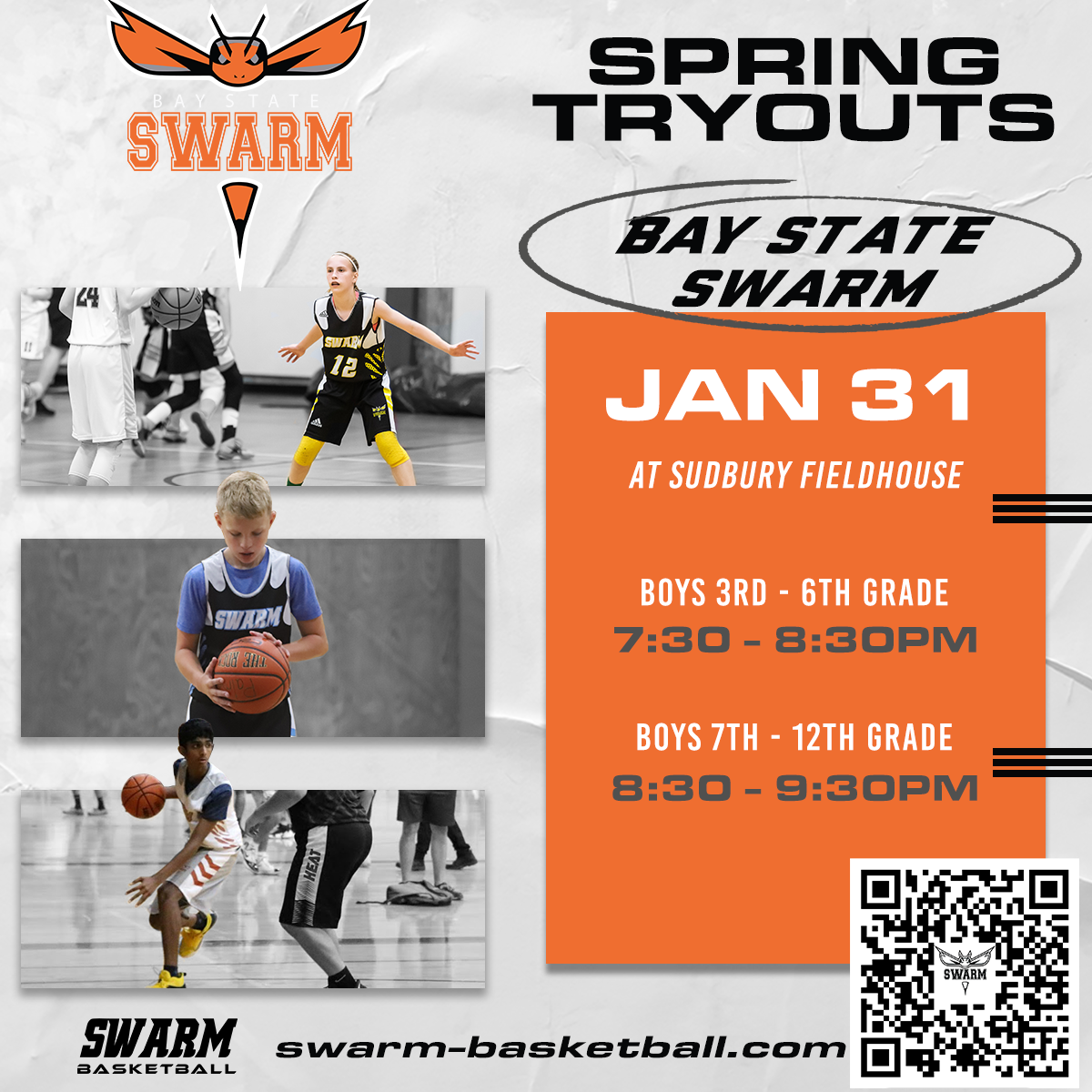 Spring 2021 tryouts Bay State